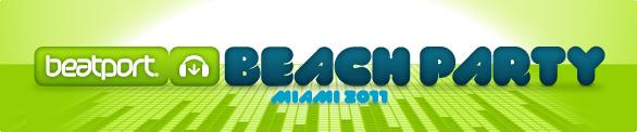 Beatport Beach Party Miami 2011
